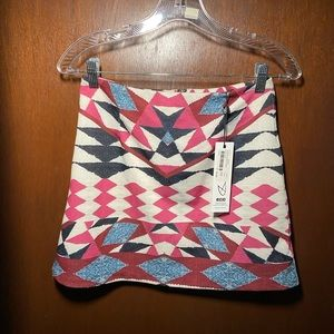 Minkpink mini skirt new size XS
